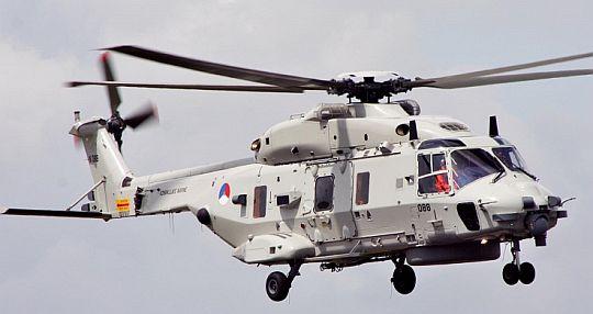 Postergado o recebimento dos NFH-90 Holandêses